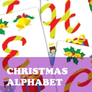 Christmas Alphabet Flashcards