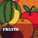 Fruit Coloring Worksheets