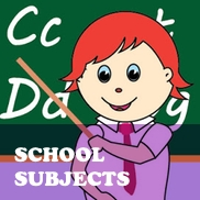 School Subject Flashcards