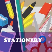 Stationery Coloring Worksheets