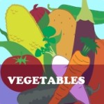 Vegetable Coloring Worksheets