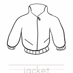 Jacket Coloring Worksheet
