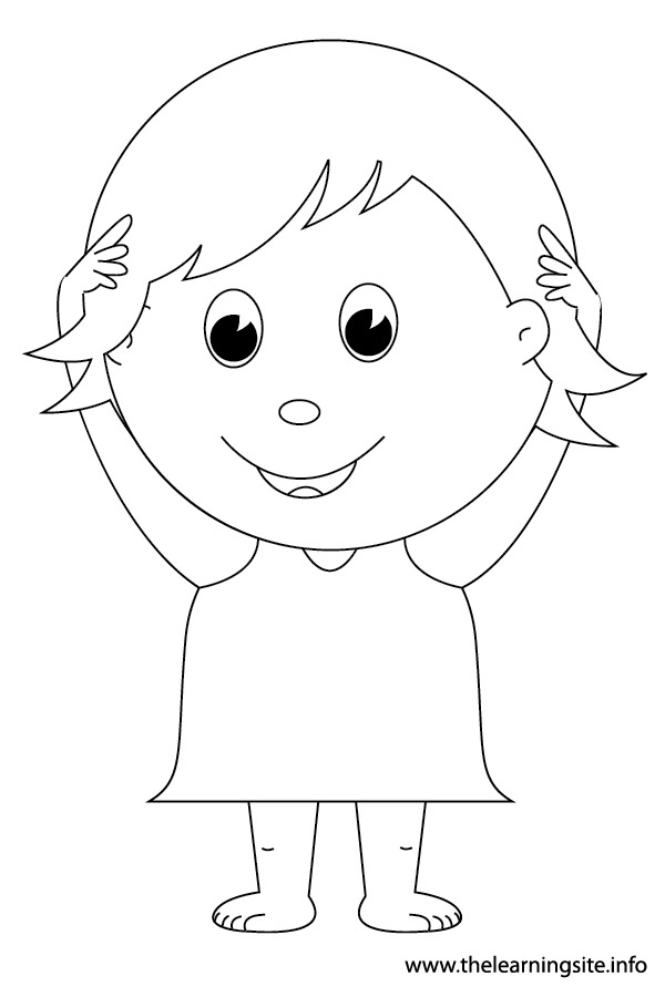 body part coloring pages - photo#34