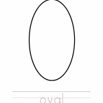 Oval Coloring Worksheet