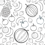 pattern_fruits2_black_outline