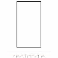 Rectangle Coloring Worksheet