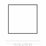 Square Coloring Worksheet