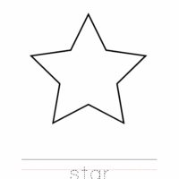 Star Coloring Worksheet