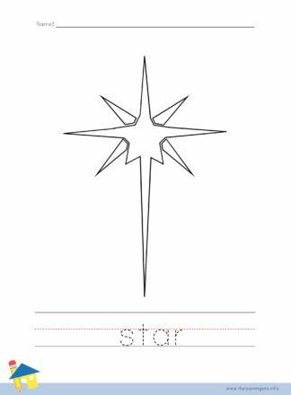 Star Coloring Worksheet