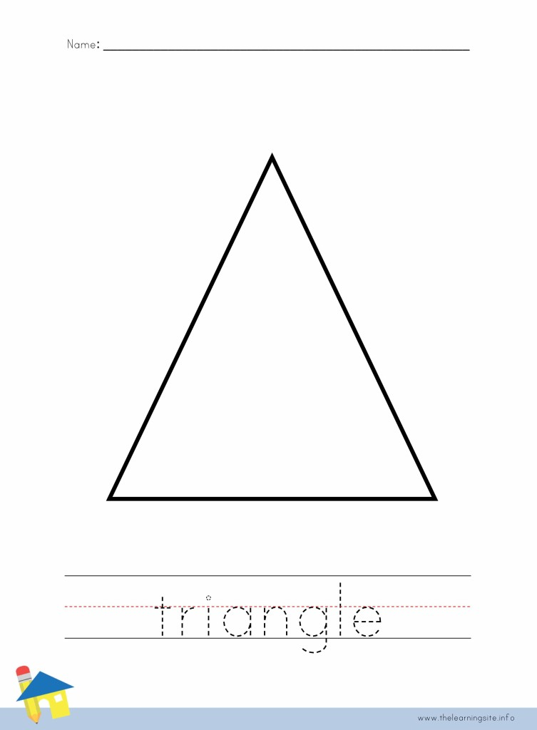The Learning Site – Triangle Worksheet