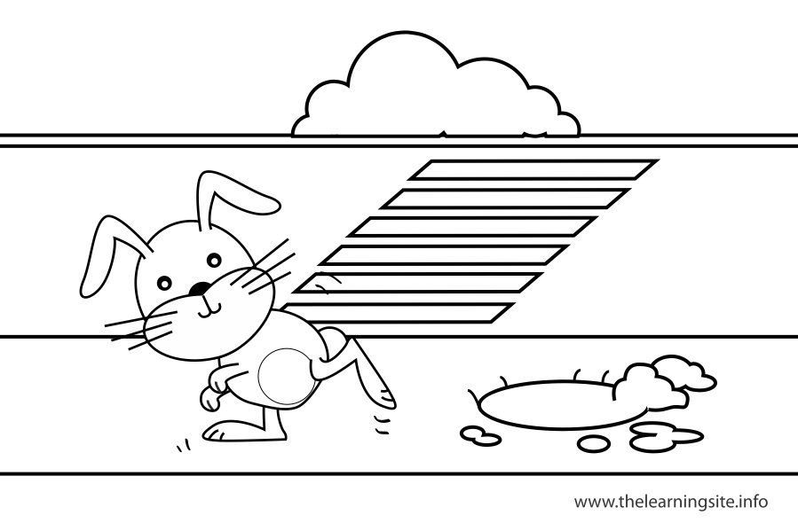coloring-page-outline-preposition-awayfrom-rabbit-running-away-from-the-rabbit-hole