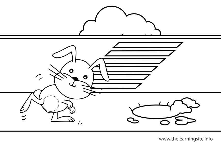 coloring-page-outline-preposition-toward-rabbit-running-towards-the-rabbit-hole