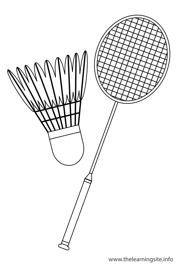 Badminton printable coloring pages for Badminton coloring pages