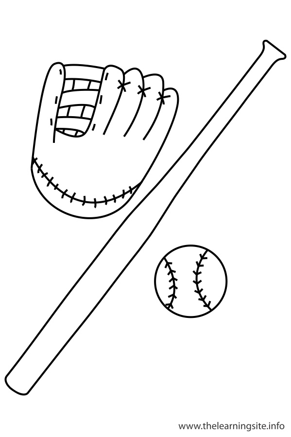 coloring-page-outline-sports-baseball