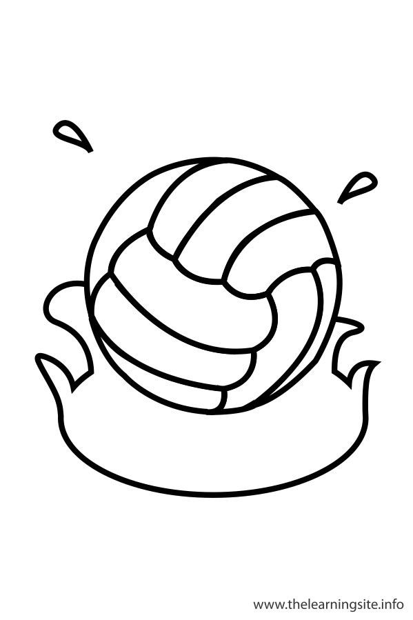 coloring-page-outline-sports-waterpolo