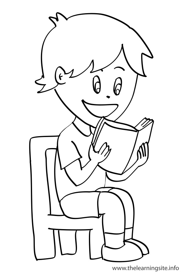 ready to read coloring pages - photo#13