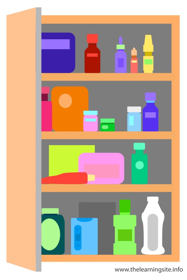 flashcard-school-objects-medicine-cabinet