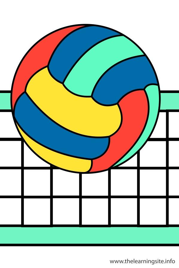 flashcard-sports-volleyball