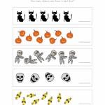 Halloween Number Worksheet 1