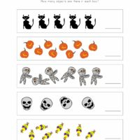 Halloween Number Worksheet 1