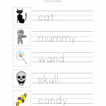 Halloween Writing Worksheet 2