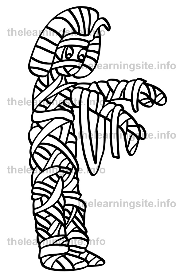 coloring-page-outline-egyptian-mummy-sample