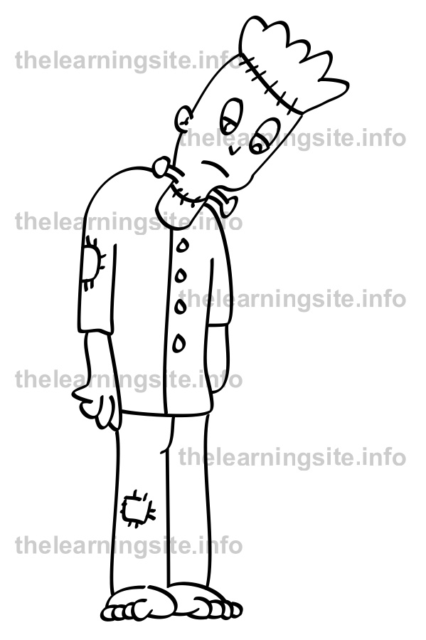 coloring-page-outline-frankenstienmonster-sample