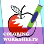Shape Coloring Worksheets