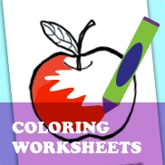 Stationery Coloring Worksheet