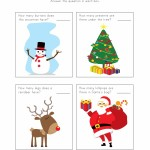 Christmas Number Worksheet 1