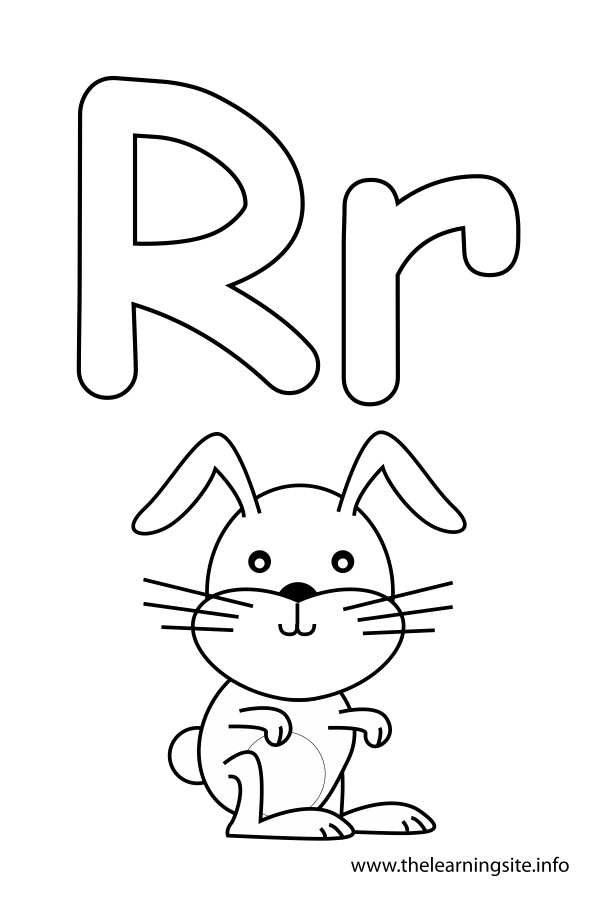 Free Coloring Pages Of R Rabbit