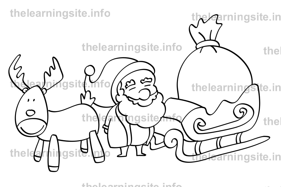 coloring-page-outline-christmas-santa-sleigh-sample