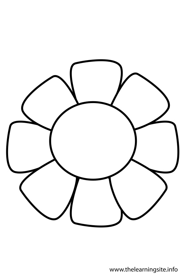 coloring-page-outline-flower