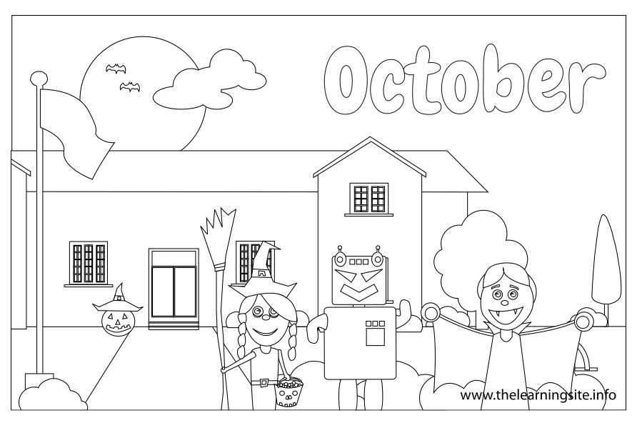 coloring-page-outline-months-september