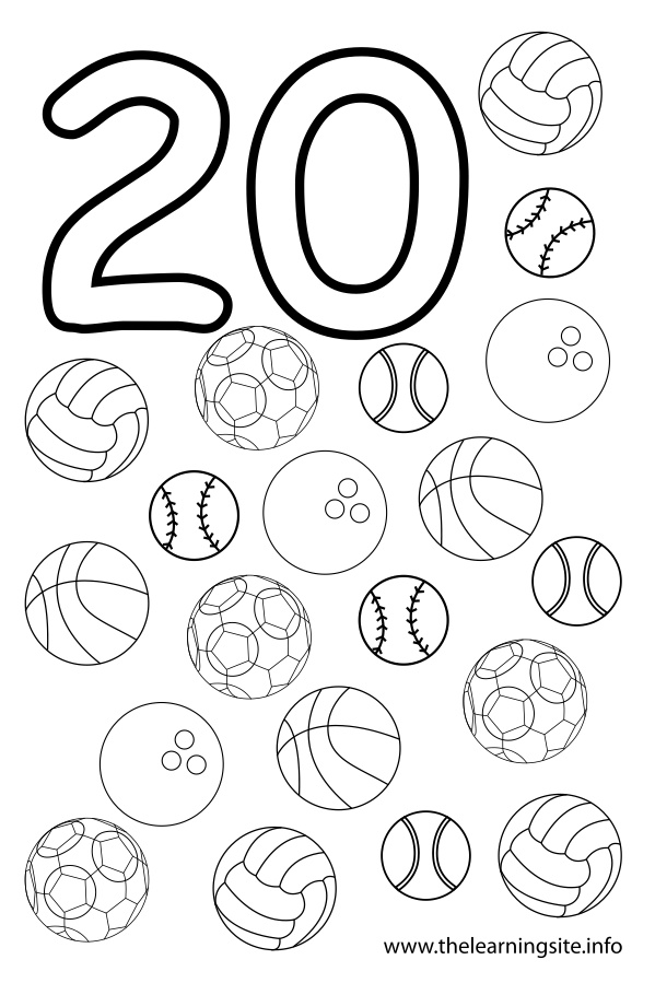 Number 1 outline coloring pages for Coloring pages numbers 1 20
