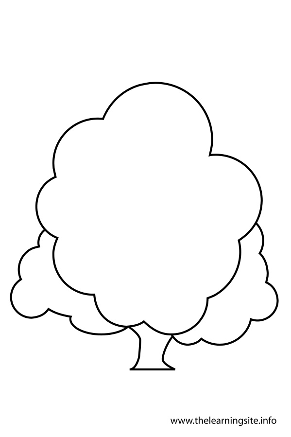 coloring-page-outline-tree