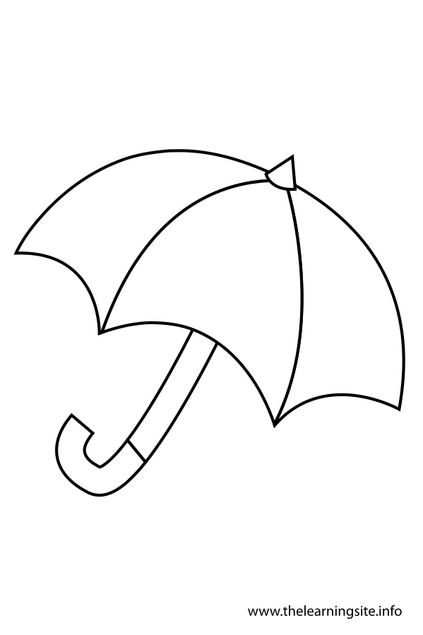 coloring-page-outline-umbrella