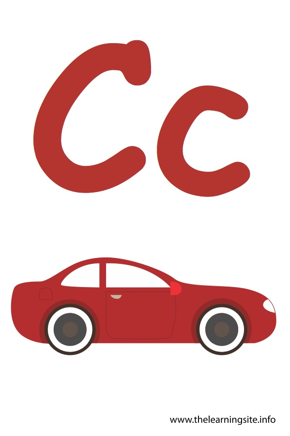 flashcard-alphabet-letter-c-car
