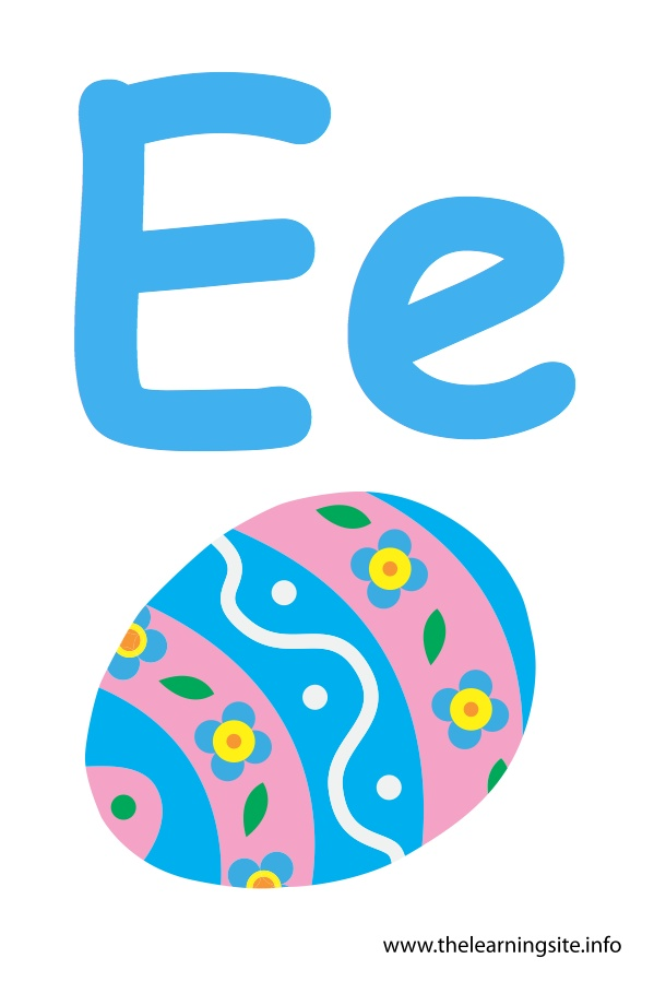 flashcard-alphabet-letter-e-egg