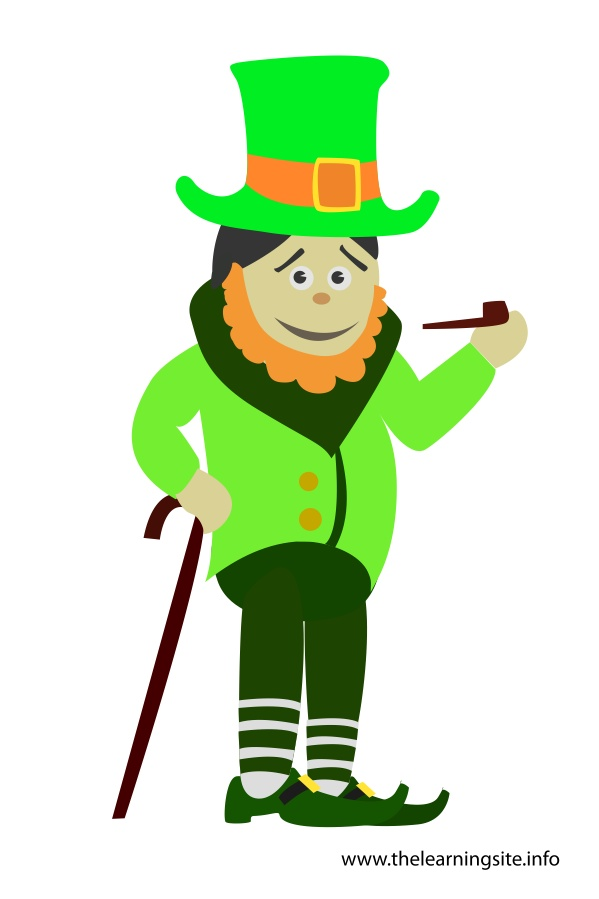 flashcard-boy-in-leprechaun-costume