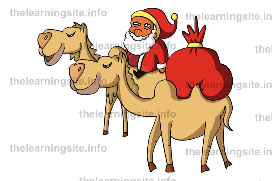 flashcard-christmas-santa-camel-sample