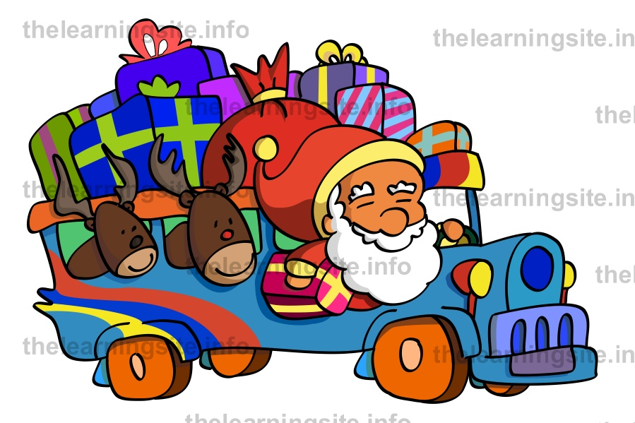 flashcard-christmas-santa-jeep-sample