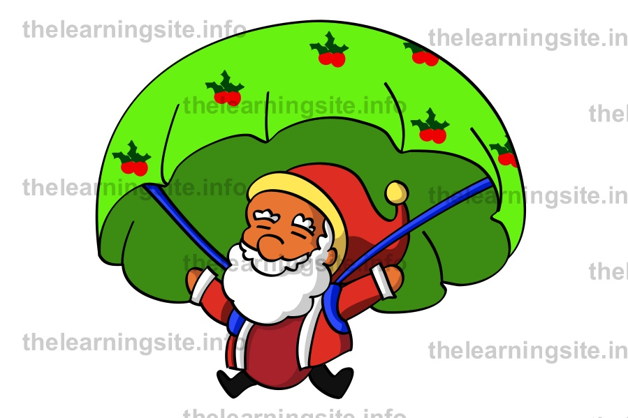flashcard-christmas-santa-parachute-sample