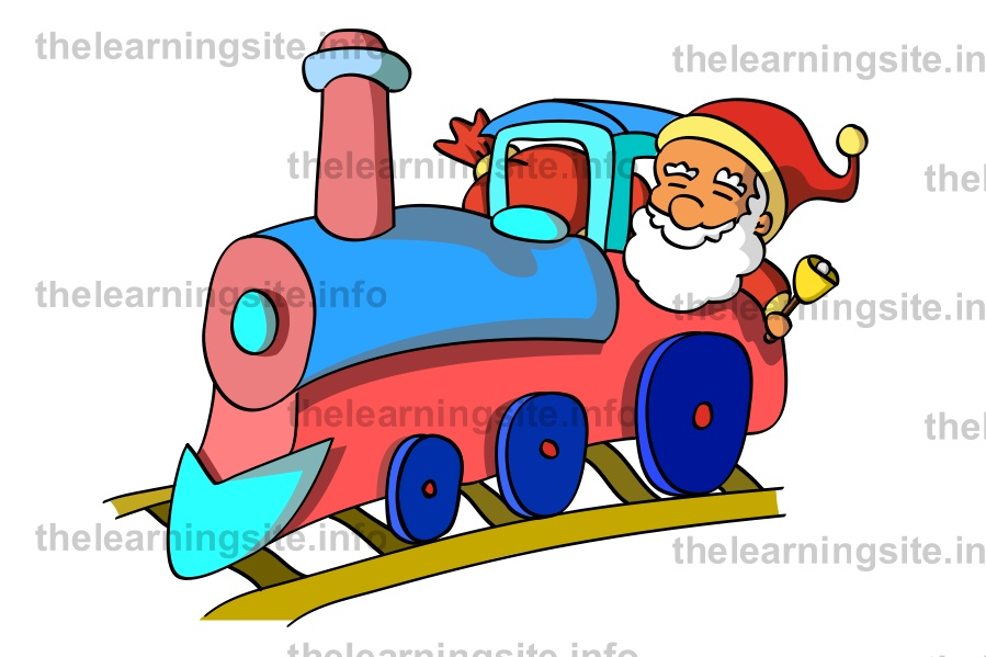flashcard-christmas-santa-train-sample