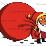 flashcard-christmas-santa-walking-sample