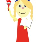 flashcard-girl-in-a-statue-of-liberty-costume