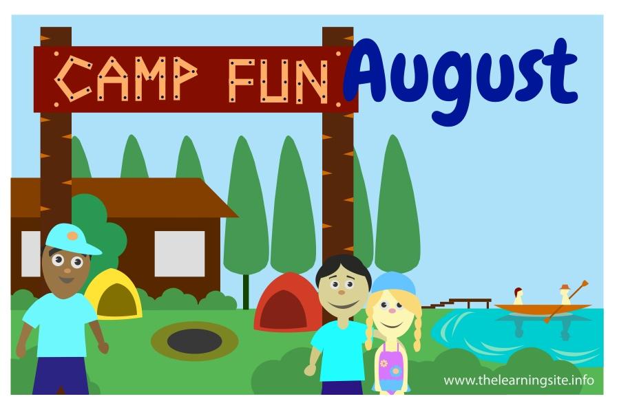 flashcard-months-august