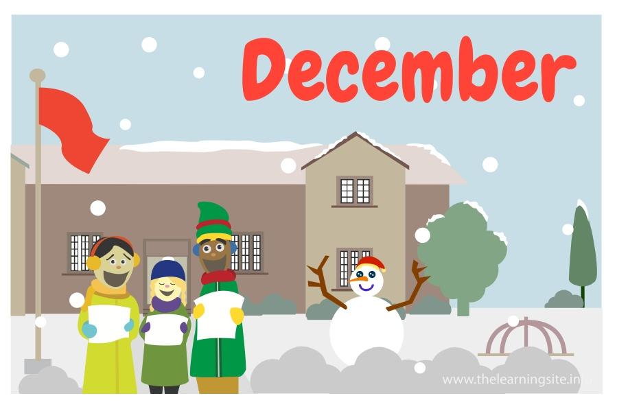 flashcard-months-december