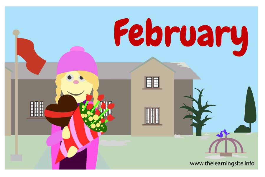 flashcard-months-february