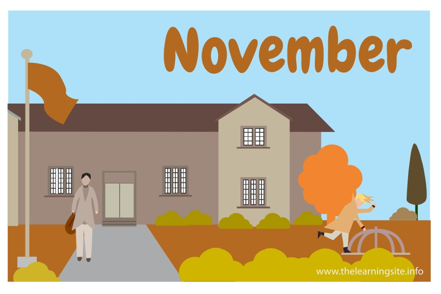 flashcard-months-november